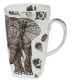 Tea mug Black Elephant 600ml