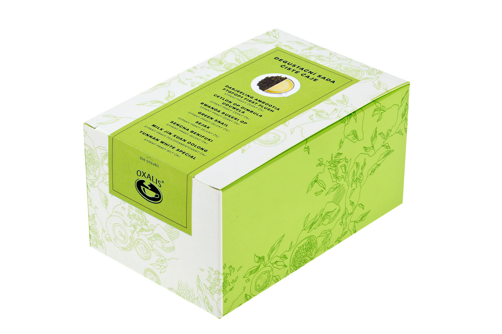 Tea tasting pack - pure teas 8X10g.